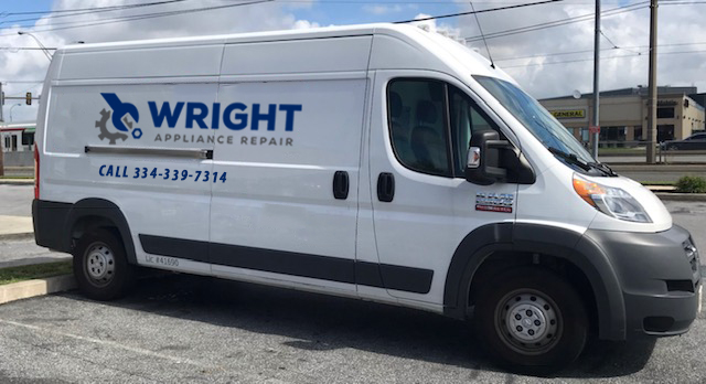wright appliance repair van